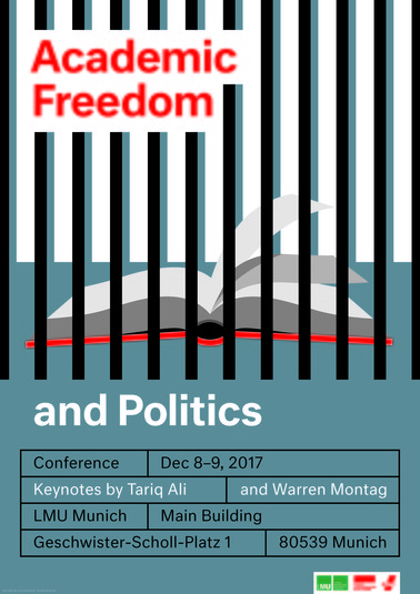 Plakat Academic Freedom and Politics